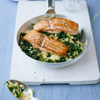 Roasted Honey-Garlic Salmon